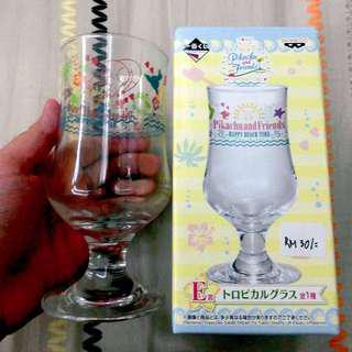 Pikachu and Friends E Prize Ichiban Kuji Glass