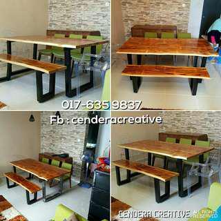 Perabot Kayu pallet pine furniture