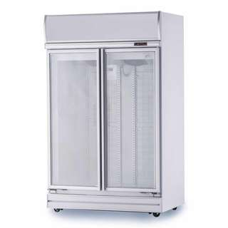 2 Door Display Freezer - Brand NEW - Made in Singapore