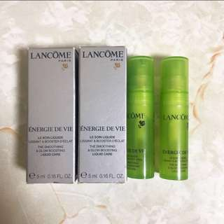 Lancome the smoothing & glow boosting liquid care 注養保濕能量液