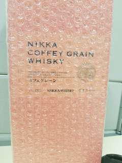 Nikka Coffey Grain Whisky 全新日版