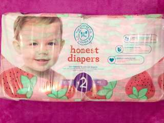 Natural Baby Diapers from the US (size 2)