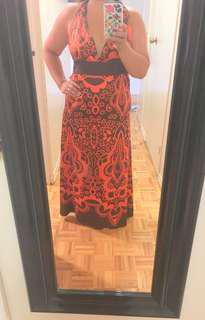 Long maxi dress Medium size