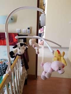 Mainan Baby Musical Mobile