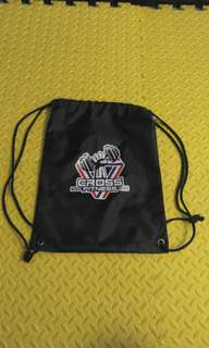 運動束繩實用防水背袋