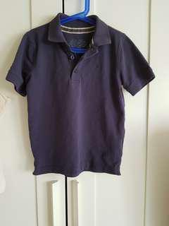 ESPRIT深藍色男童POLO衫