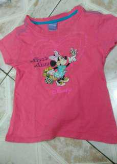Kaos minnie disney anak