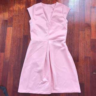 Elegant Baby Pink Dress