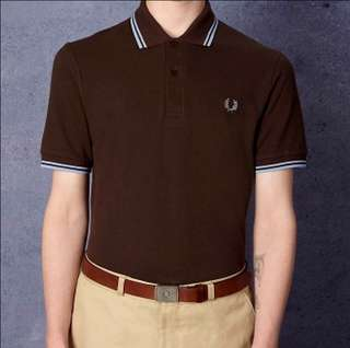 [NEW] Fred Perry Ringer polo tee