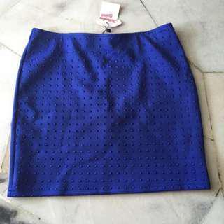 Kitschen Blue skirt