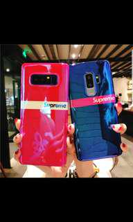 Supreme Blue Ray Samsung Phone Casing