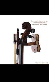🚚 Violin Wall Mount Hook W/ Bow Holder