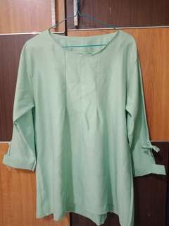 Blouse mint.