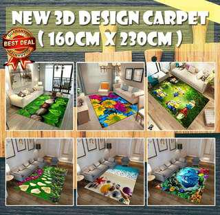 3D design carpet