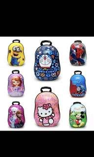 Eggshell Cartoon Kids Backpack [READY STOCK!!]