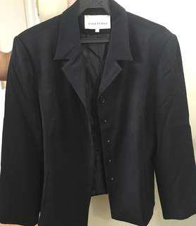 Black Basic Coat