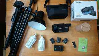 🚚 4K 攝影機 SONY FDR-AXP55 「送 🎀豪華配件&💡補光燈組 」