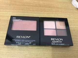 Revlon bundle blush & eyeshadow