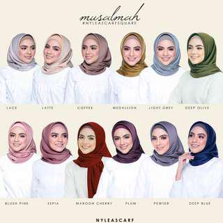 Musalmah by Nyleascarf - Classic restock on hot colours!