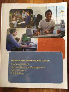 BH2601 Fundamentals Of Human Resource Management