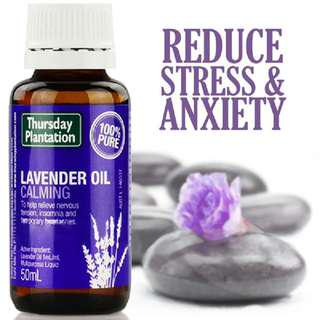 🚚 [PO][50ml]Thursday plantation lavender 50ml