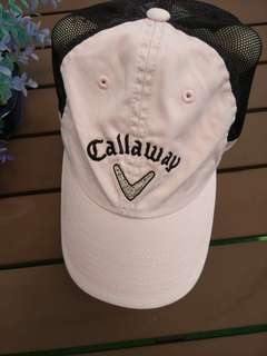 Callaway Cap - Pale pink with bling design