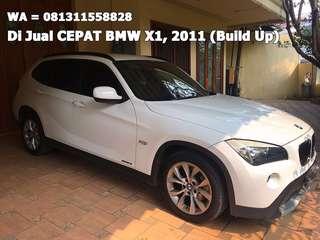 DiJual CEPAT, Tahun 2011 BMW X1 sDrive18d 2.0 AT (Build Up)
