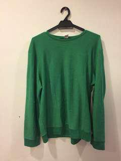 Green Sweatshirt (TOPMAN)