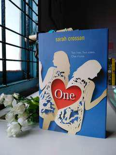 One by Sarah Crossan (Hardcover)