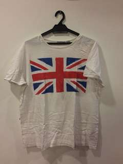 Printed Tshirt UK Flag. (TOPMAN)