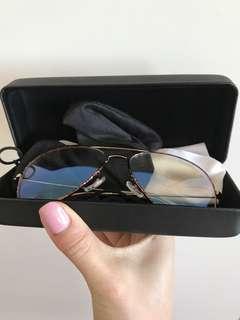 Shevoke clear aviator sunglasses glasses tortoise shell frame