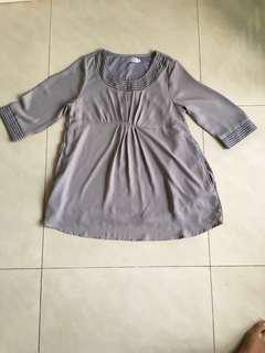 Maternity top maternity blouse pregnancy top very soft material