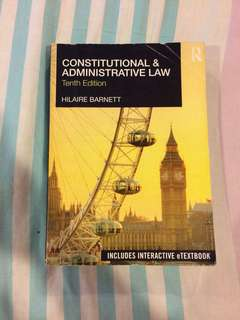 Law Books Constitutional Law & Administrative. FULL SETT OF BOOKS.