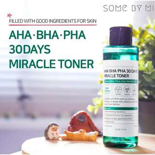 Some by mi authentic miracle toner