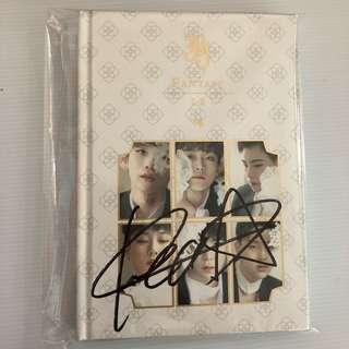 [SALE] JBJ 1st mini album Fantasy Kenta signed I-II Just Be Joyful