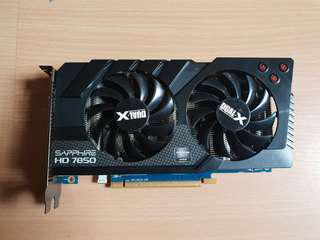 AMD sapphire HD 7850 2GDDR5 (Price reduced)