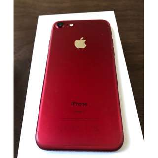iPhone 7 128GB - RED (Limited Edition)