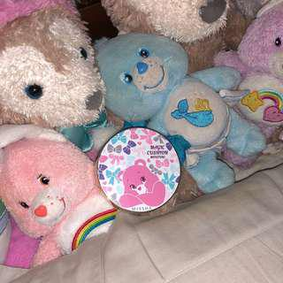 MISSHA 日本 限定 氣墊粉餅 Care bear #美妝88