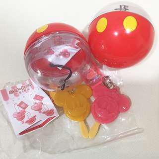 Tokyo Disneyland Mickey & Minnie Ice Cream Key Chain