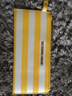 Genuine Michael Kors Wristlet from 2014/2015. Yellow saffiano leather.