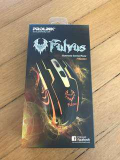 Prolink Fulvus Illuminated Gaming Mouse