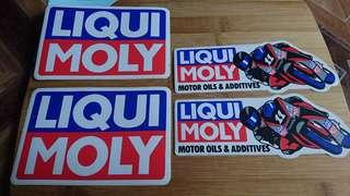 Sticker liqui moly