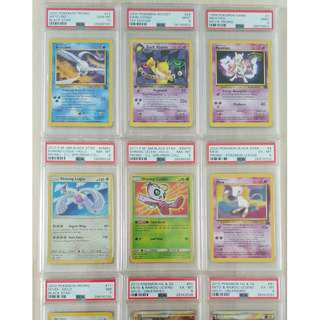 Pokemon PSA Graded Cards TCG Collection