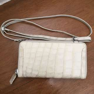 Authentic Crocodile Skin Wallet