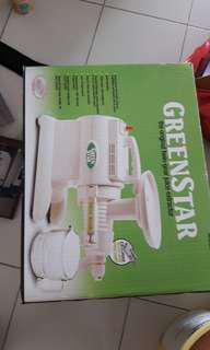 twin gear juice extractor by greenstar