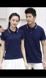 Blue Polo Tee Ladies. Small size