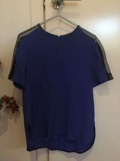 Zara - Contrast Top