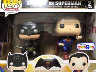 Batman vs Superman FunkoPop