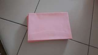 wedding envelope pink