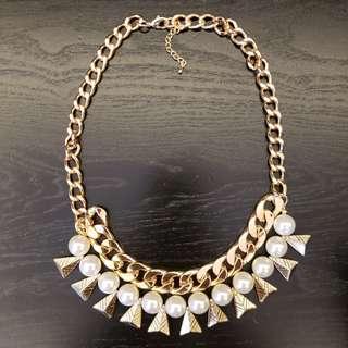 高貴珍珠頸鏈